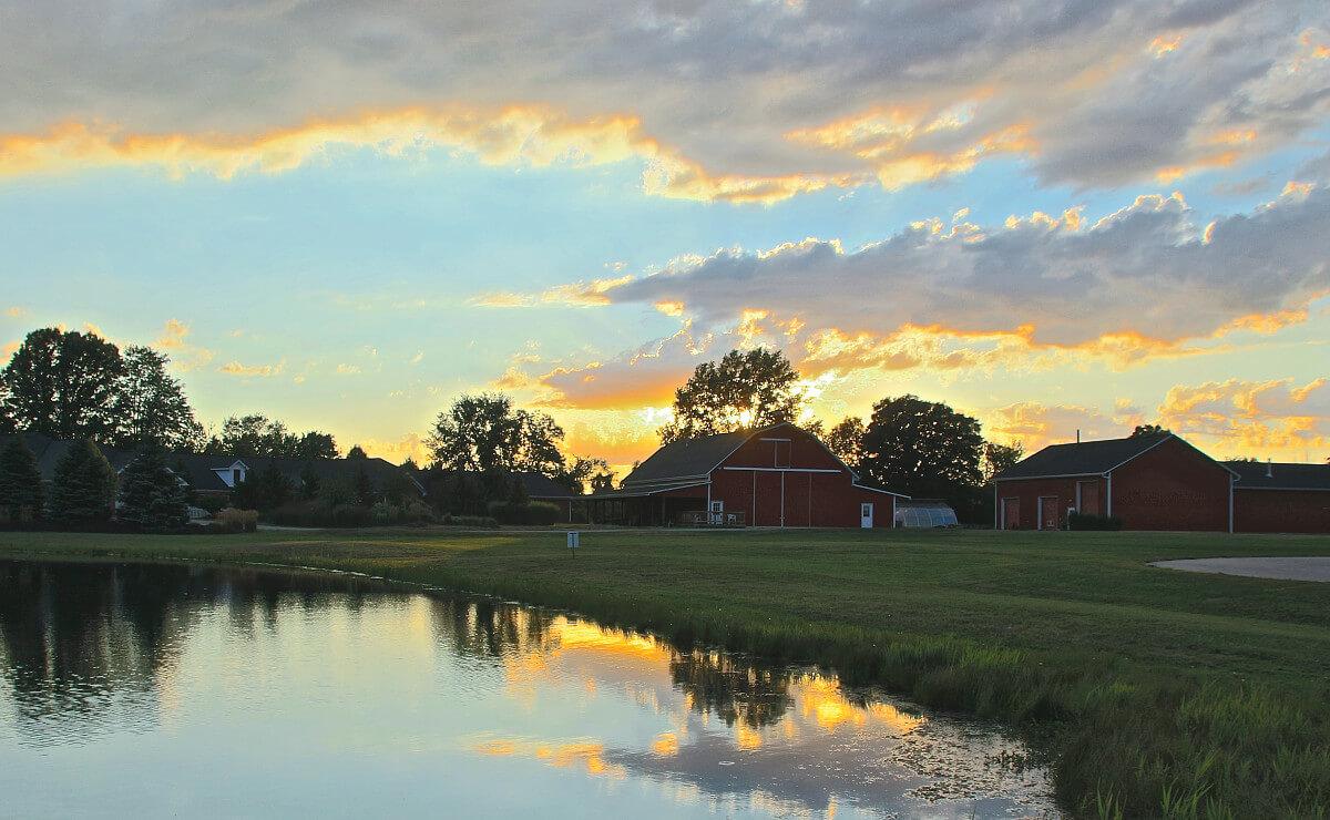 5a Barn Sunset