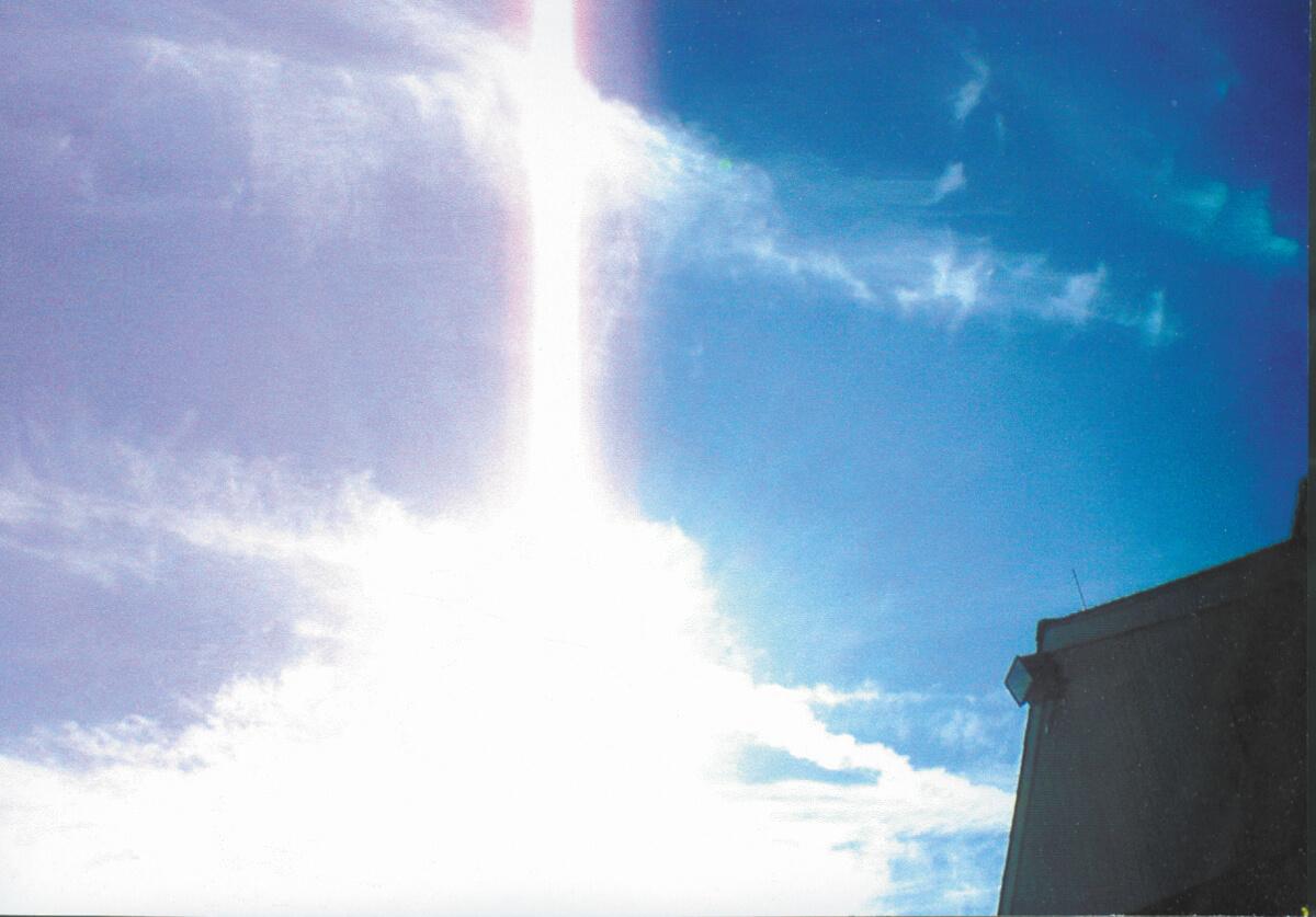 7a Cross in Clouds